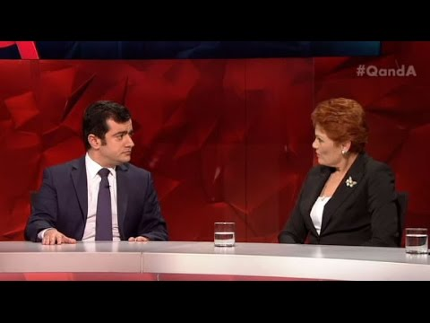"""Are you a Muslim?"" Pauline Hanson surprised at Senator Sam Dastyari's faith"