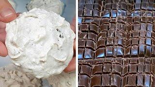 """Такой Простой Рецепт! """"Забытое"""" Печенье! Воздушные Пирожные, Хрустящее безе с орехами и шоколадом"""