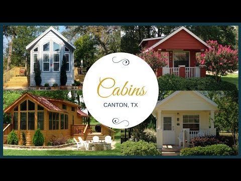 Vacation Cabins in Canton TX | 877-927-3439