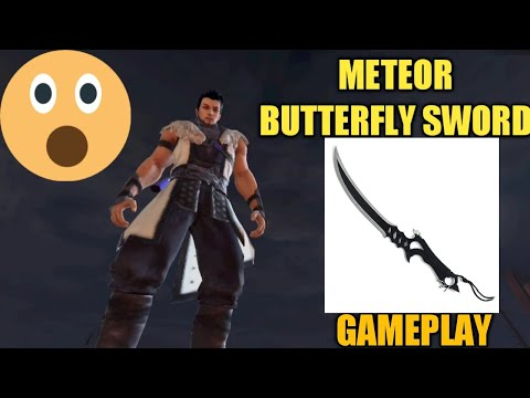 METEOR BUTTERFLY SWORD ANDROID GAMEPLAY!!!