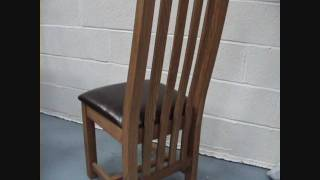 Country Oak Solid Oak Dining Chairs