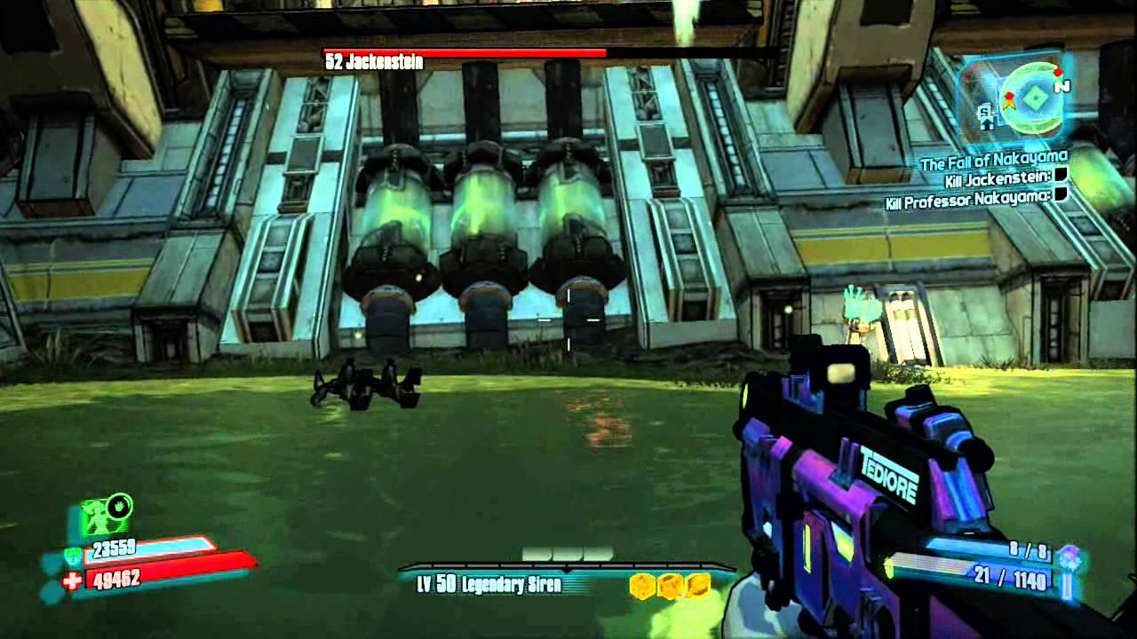 Borderlands 2 | Final Boss - Jackenstein (Sir Hammerlock's Big Game Hunt  DLC) by gamecastle11