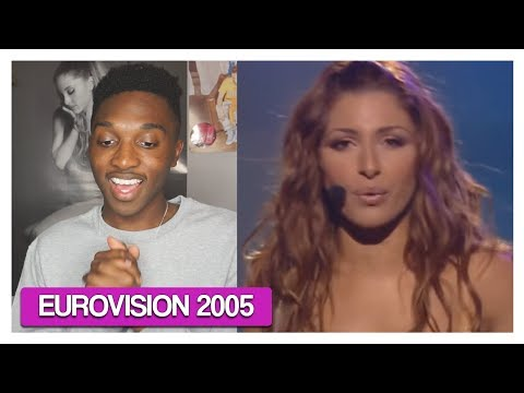 Helena Paparizou - My Number One (Greece) - Eurovision Song Contest 2005 *REACTION*