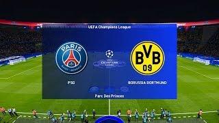 PSG vs Borussia Dortmund (2nd Leg) Champions League 2020 Gameplay