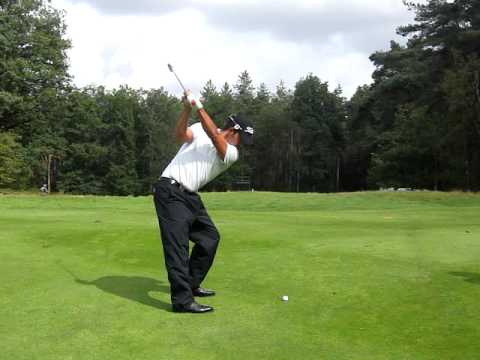 Pablo Larrazabal golf swing slomo