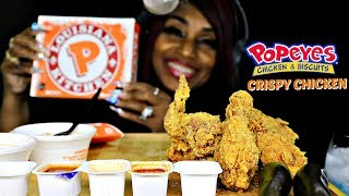 Baixar ASMR POPEYES CHICKEN; FAST CHEWING; INTENSE EATING; EXTREME CRUNCH