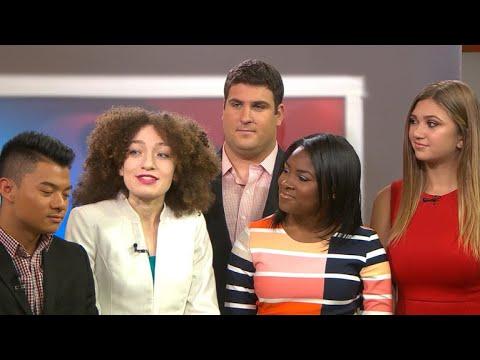 CBS News interns present winning project