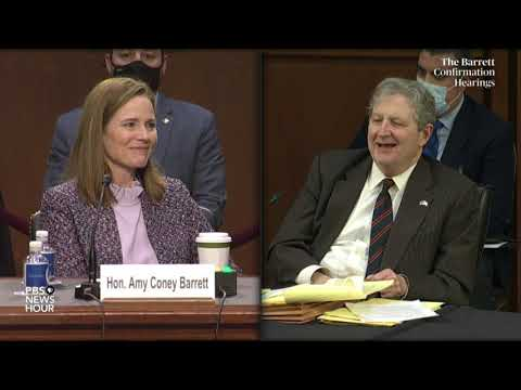 WATCH: Sen. John Kennedy questions Supreme Court nominee Amy Coney Barrett