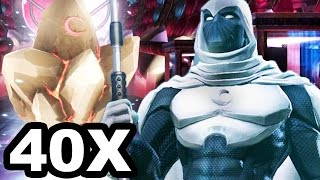 Marvel: Contest of Champions - 40x MOON KNIGHT LUNAR Crystals Opening!