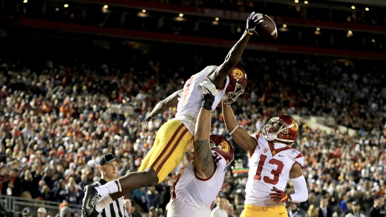 Highlights: No. 9 USC football completes epic comeback ...