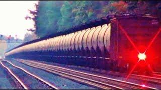 World's Longest Oil Tanker Train