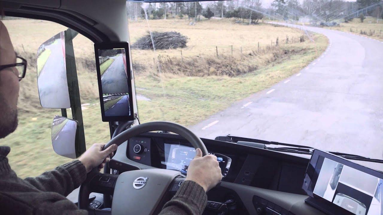MirrorEye™ makes mirrorless trucks possible - YouTube