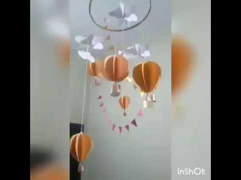 How to make hot air balloons with paper