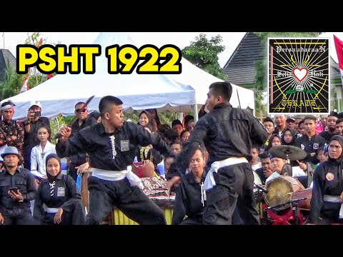 Atraksi SH Terate di Madiun Kampung Silat 2018