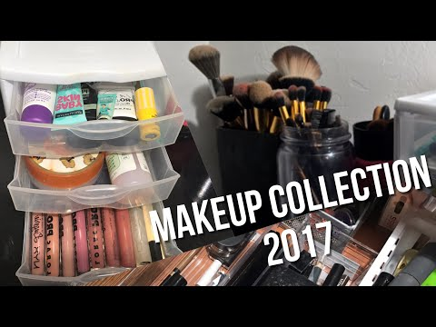 MAKEUP COLLECTION of a 15 year old| 2017