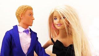 Барби на конкурсе танцев. Видео для девочек
