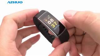 2018 New Full Touch Color Screen IWOWN i6 Pro C Fitness Tracker