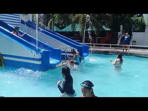 Swimming at saniya resort