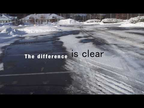 De-Ice Your Parking Lot - Watch This!