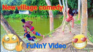 Very very Funny video and village new comedy/Try not to Laughing.Pagla funny media.