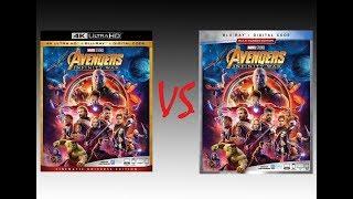 ▶ Comparison of Avengers: Infinity War 4K HDR10 vs Infinity War 2018 Blu-Ray Edition