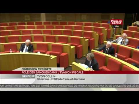 DSK au Sénat   La Finance Internationale