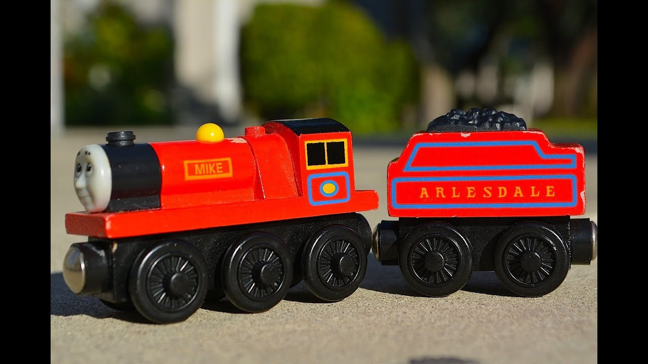 Character Fridays With Thomas The Tank Engine And Friends Mike A Wooden Railway Train Review