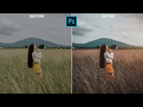 Cinematic Color Grading Tutorial And Preset | Photoshop CC 2019