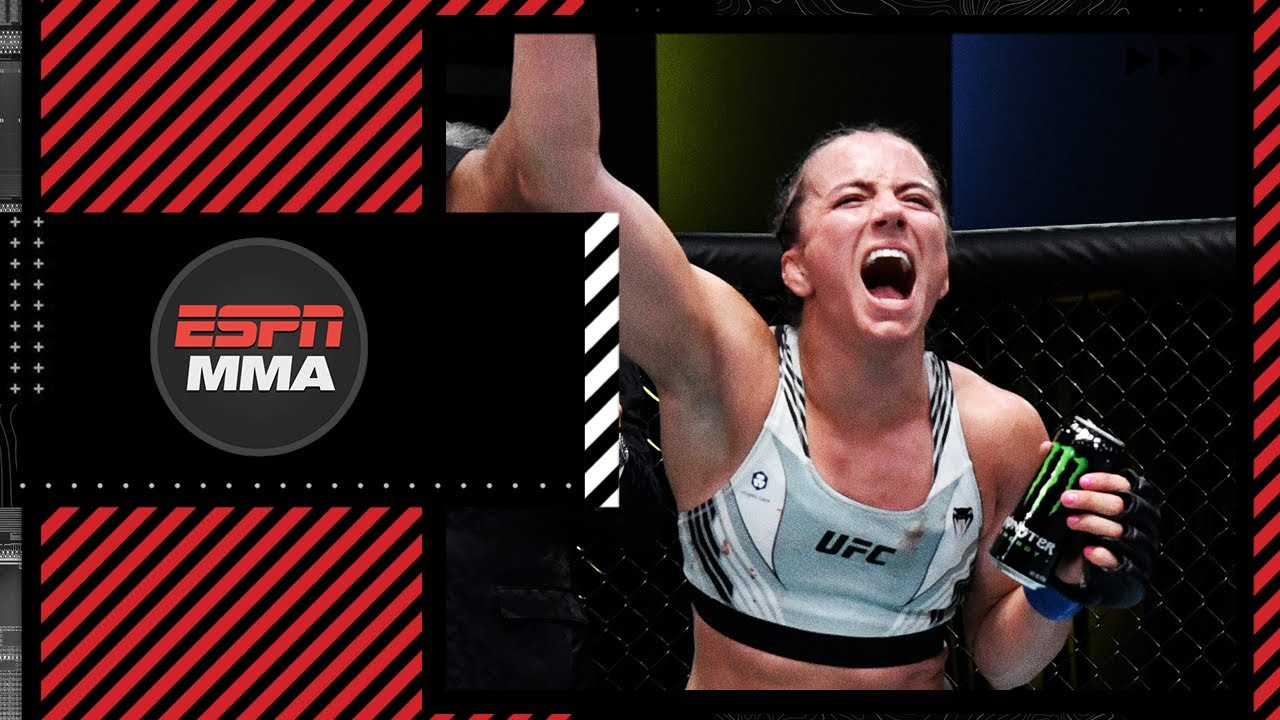 Maycee Barber on handing Miranda Maverick her first UFC loss with a split-decision victory   ESPN