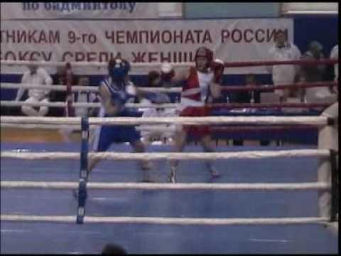 Valentina Shevchenko, Russian boxing Woman Championship, Moscow 2007