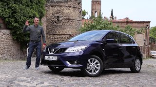 Nissan Tiida 2015 Тест-Драйв.  Игорь Бурцев