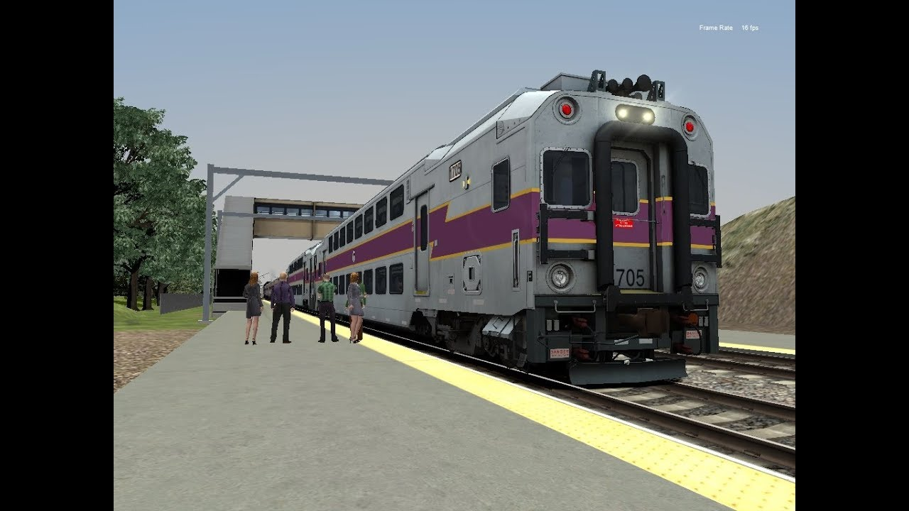 Train Simulator 2018: MBTA Providence/Stoughton Line Train #826 by Southern  Division Rail Productions