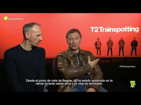 """Ewen Bremner y Robert Carlyle sobre """"T2 Trainspotting"""""""