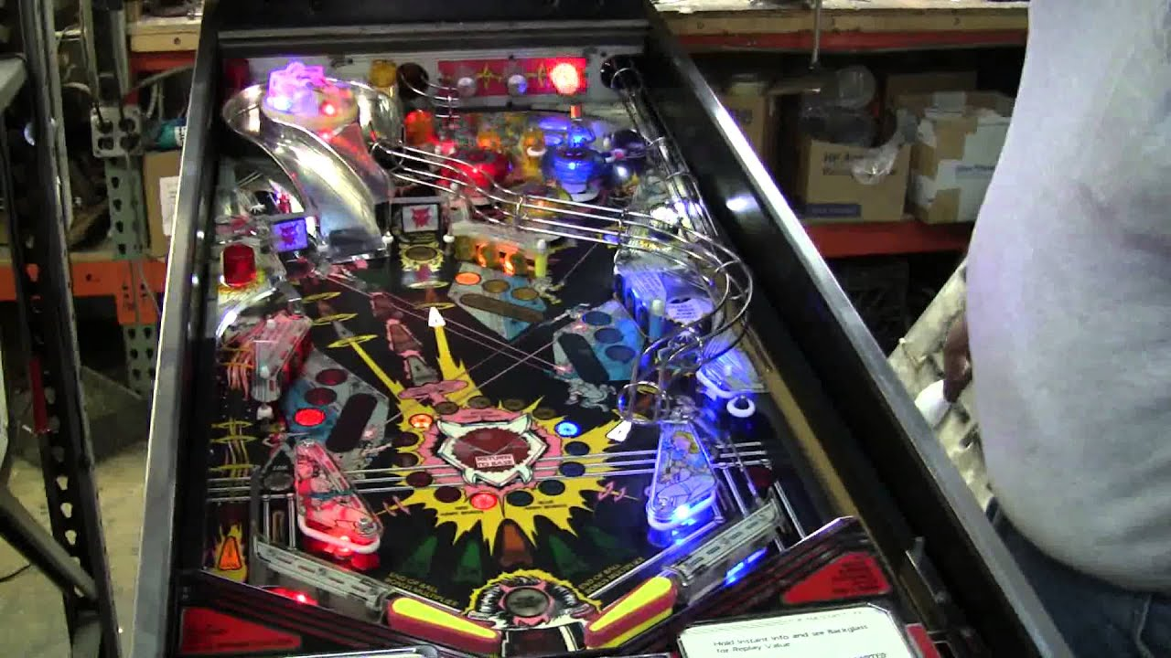 Star Wars Pinball Machine >> #183 Data East's first Pinball Machine LASER WAR - first ...