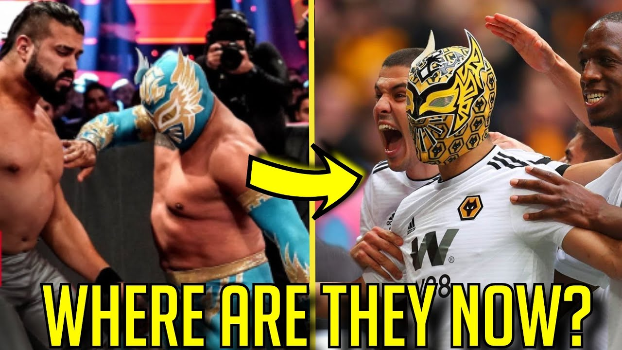 20 WWE Wrestler RELEASED In 2019: Where Are They Now? - Sin Cara football/soccer?