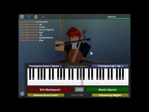 Roblox Piano Sheets River Flows In You
