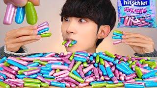 ASMR MERMAID JELLY CANDY 수수깡 젤리 머메이드 알약 캔디 먹방 MUKBANG HITSCHLER HITSCHIES EATING SOUNDS ゼリーキャンディ