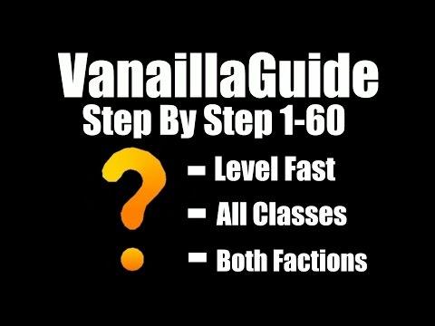 VanillaGuide 1-60 Leveling Addon - Vanilla 1.12.1