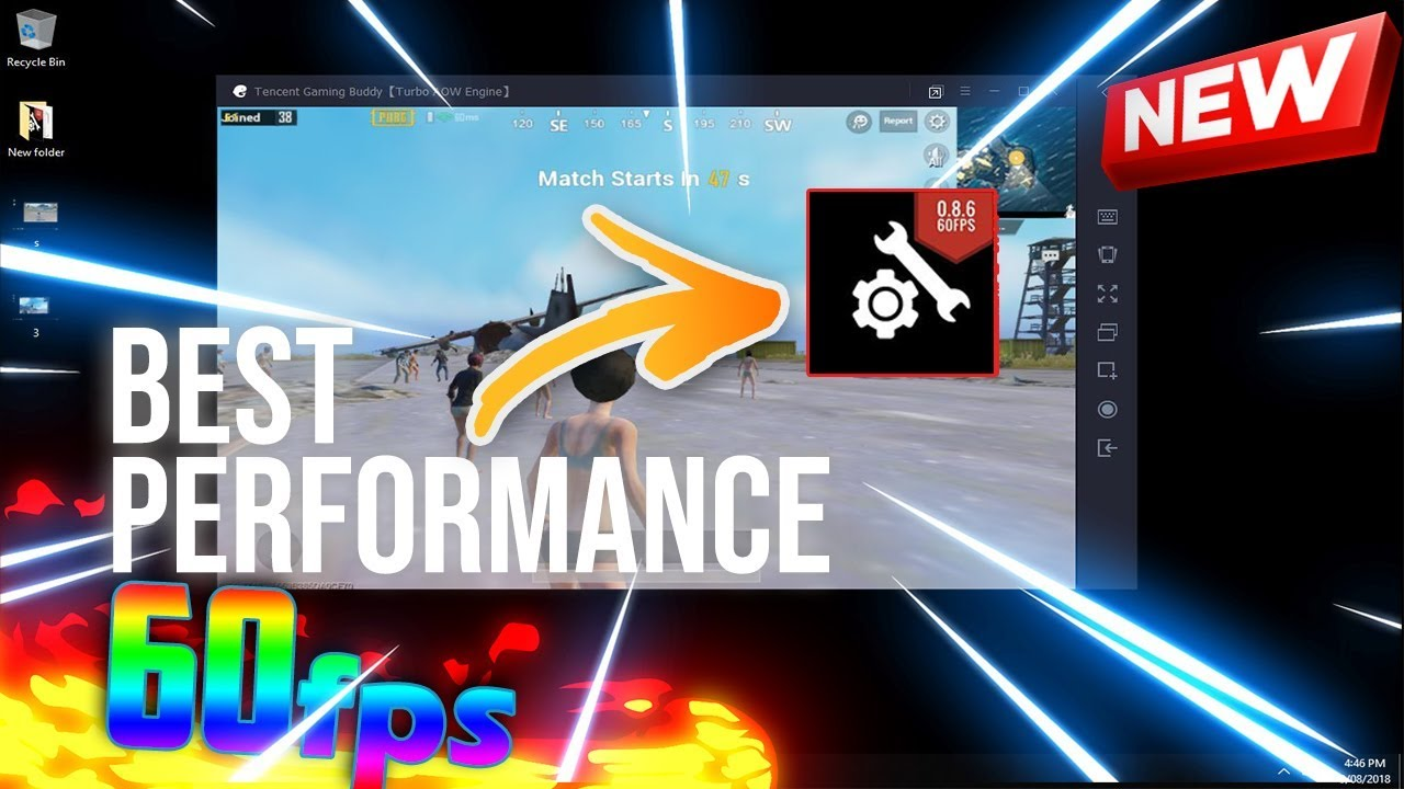 UNLOCK 60 FPS (0 7 0) ON TENCENT GAMING BUDDY👍(GFX TOOL NEW)