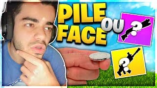 Fortnite - *NEW MODE* PILE OU FACE CHALLENGE !!