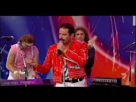 Queen tribute band play 'Crazy Little Thing Called Love'  on Australia's Got Talent mp3