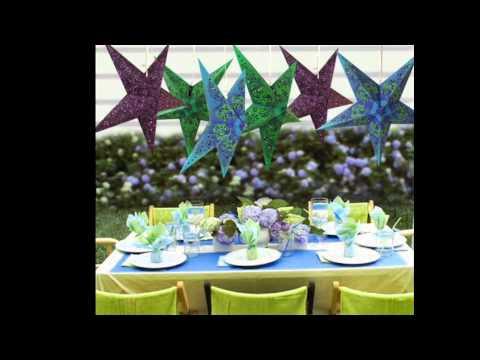 Decoracion fiestas infantiles estrellas de papel - Estrellas de papel ...