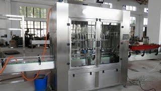 linear 8 nozzles filling machine automatic glass jar/bottles filler,bouteille machine de remplissage