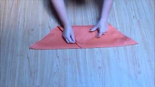 Folding Napkins For Napkin Rings: The Basic Stuffer And Fleur De Lys