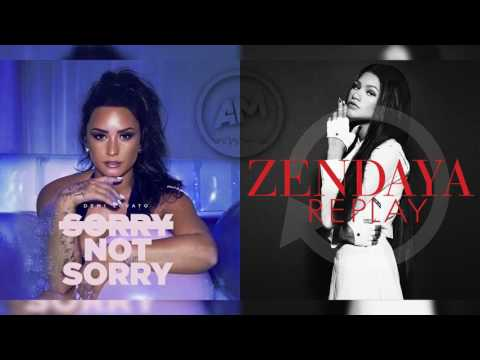 Demi Lovato Vs Zendaya - Sorry Not Sorry...