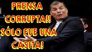 Rafael Correa pide ayuda a Pierina Correa para Burlar la Ley y Esconder sus Bienes 🏡