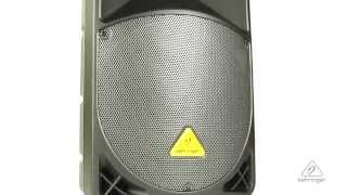 EUROLIVE B112W Active PA Speaker System with Bluetooth Technology & Wireless Microphone Option