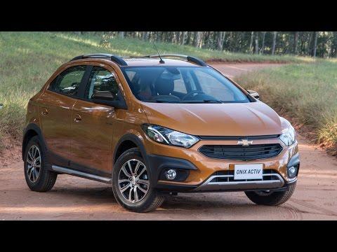 Chevrolet Onix Activ 2017 Precos Consumo Detalhes Www Car Blog Br Youtube