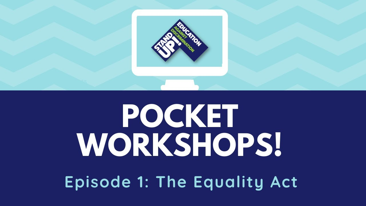Pocket Workshop: The Equality Act (2010)