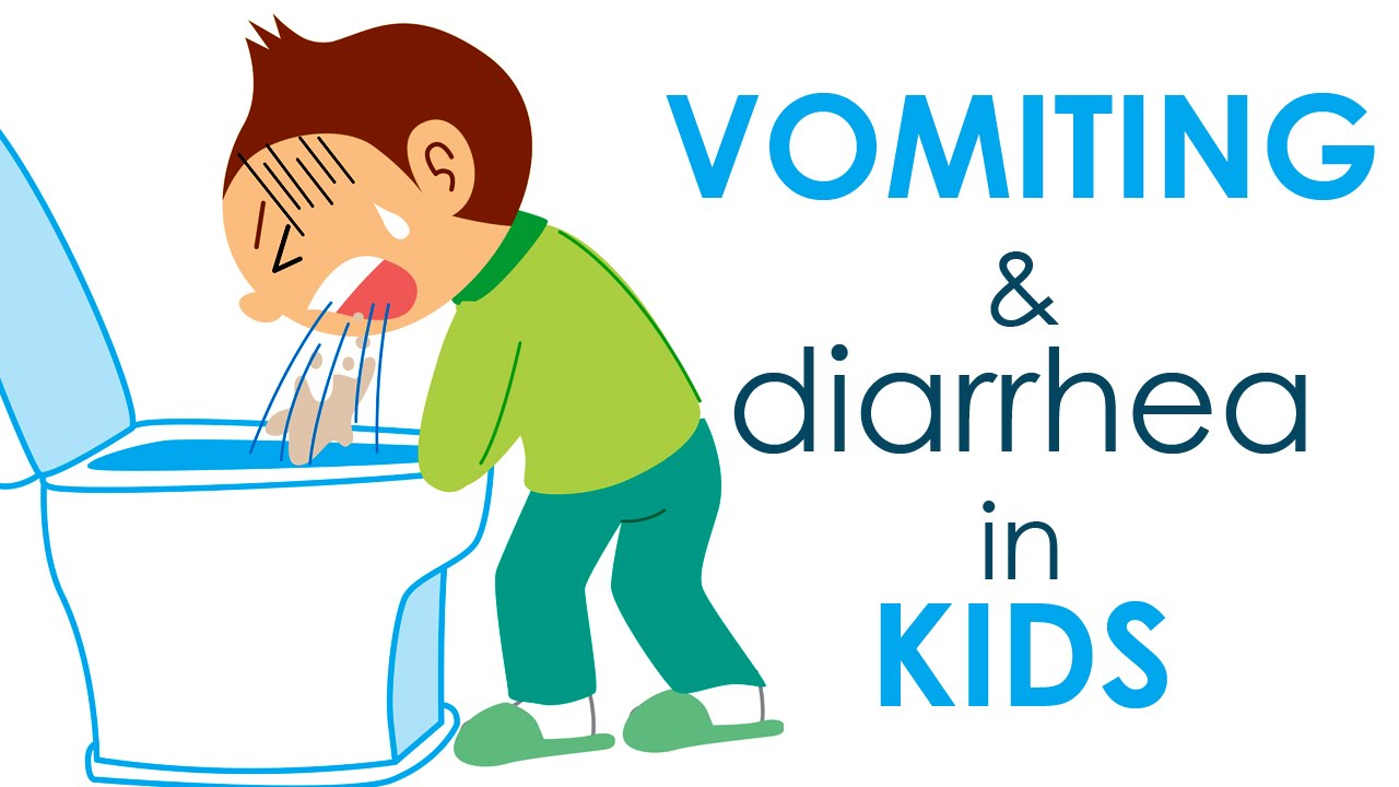 Vomiting And Diarrhea In Kids I 5 Youtube